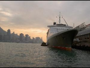 Queen Eliztabeth in Hongkong